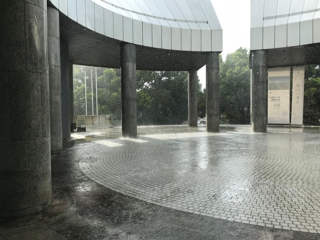 Contemporary Art Museum in the rain.JPG