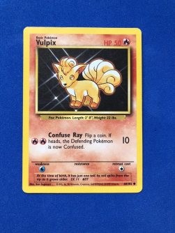 Base set Vulpix
